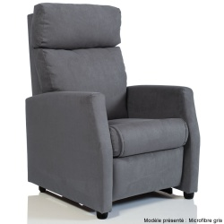 fauteuil relaxation microfibre tissu microfibres fauteuils relax direct fabricant. Black Bedroom Furniture Sets. Home Design Ideas