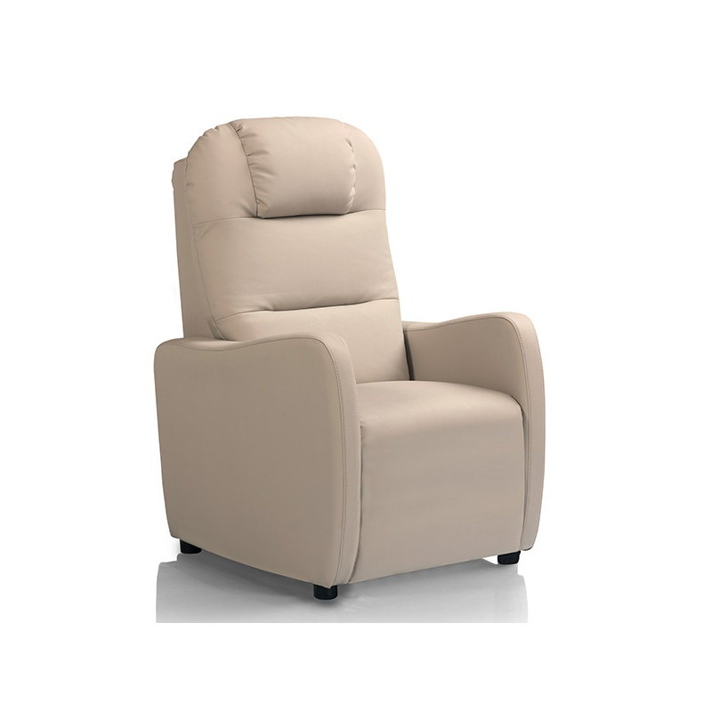 Fauteuil relaxation BALI manuel Fauteuil relax cuir simili tissu