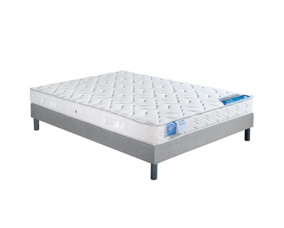 ensemble literie matelas latex atlantic et sommier lattes l11 tapissier. Black Bedroom Furniture Sets. Home Design Ideas