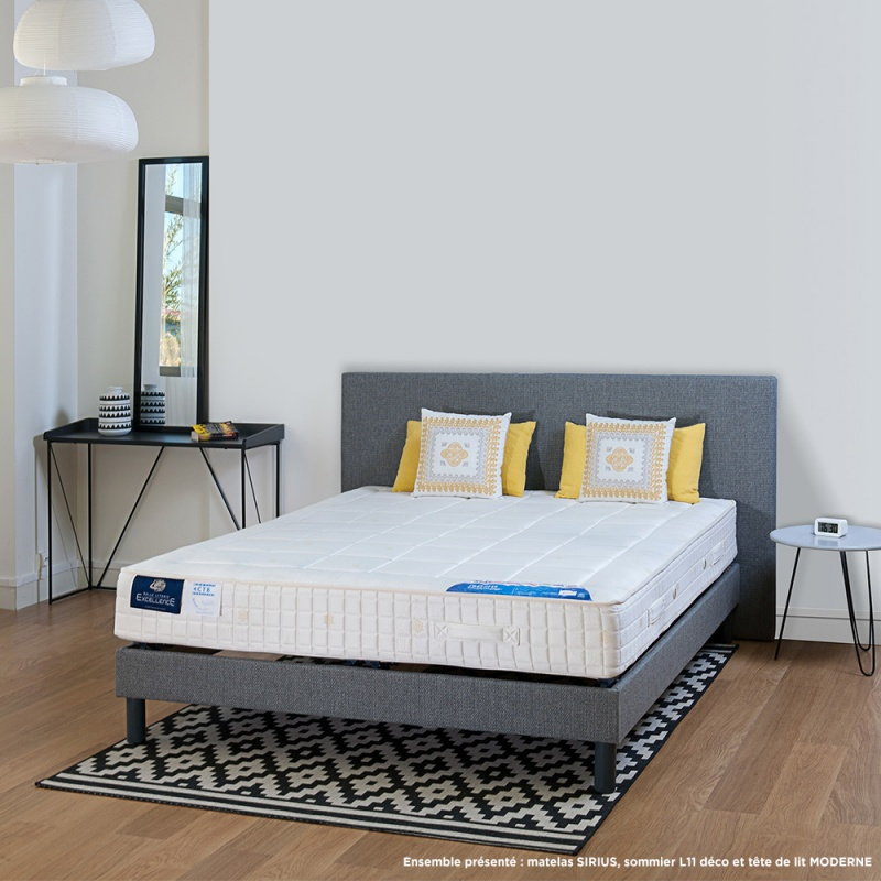 matelas ressorts ensach s sirius ressorts combizone. Black Bedroom Furniture Sets. Home Design Ideas