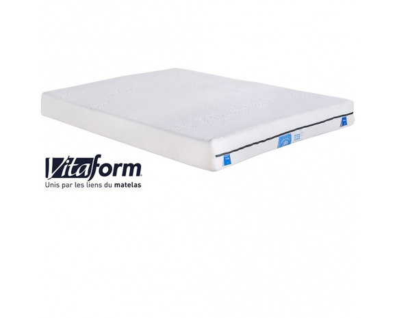 matelas confort sur mesure m moire de forme vitaform 2. Black Bedroom Furniture Sets. Home Design Ideas