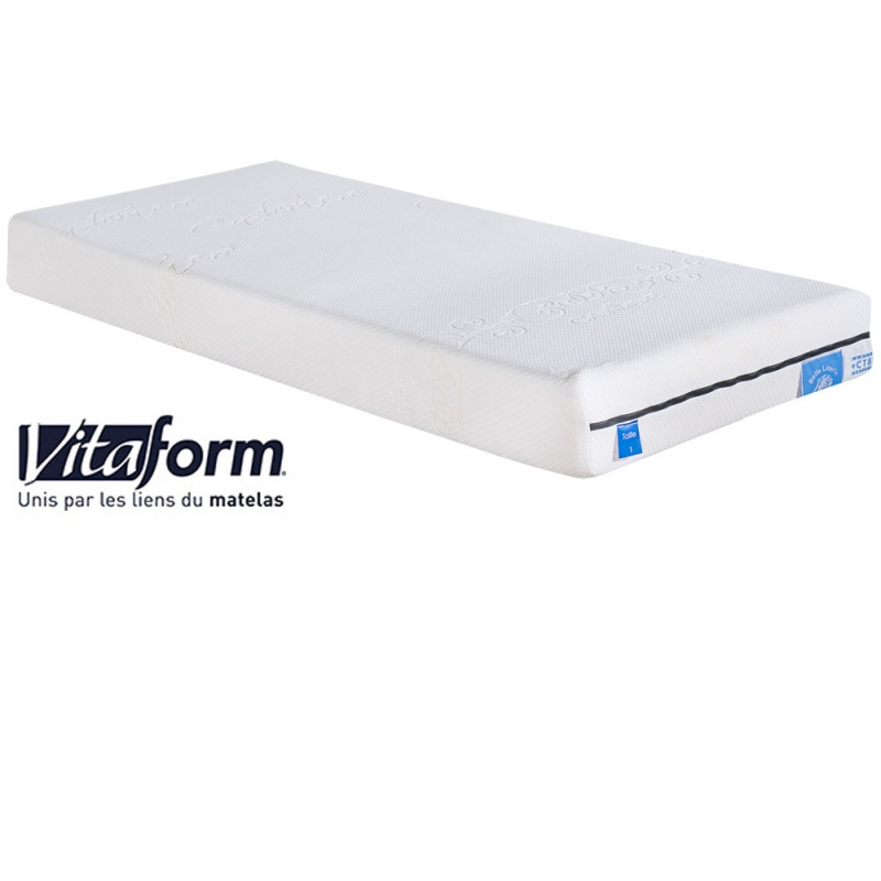matelas confort sur mesure m moire de forme vitaform 2 conforts distincts. Black Bedroom Furniture Sets. Home Design Ideas