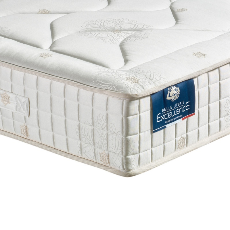 Matelas 100 latex naturel caresse 7 zones de confort belle literie - Matelas latex naturel dunlopillo ...