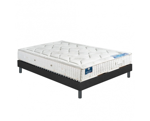ensemble literie matelas latex 100 naturel avec sommier lattes flexalatt. Black Bedroom Furniture Sets. Home Design Ideas