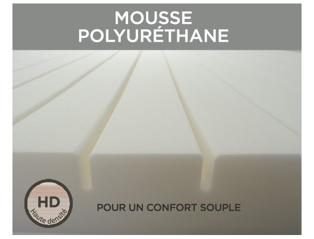 Ensemble literie mousse ARTIC + B5