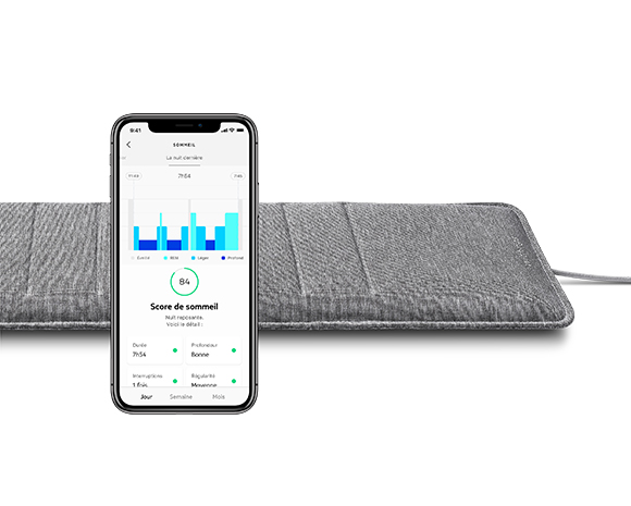Capteur Sleep Analyzer Withings, Taille Masque: Taille Unique
